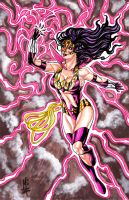 Star Sapphire Wonder Woman by montrosity