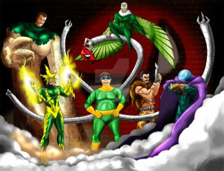 The Original Sinister Six by Wyn83