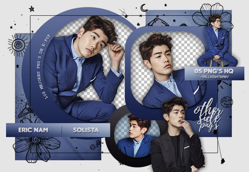 PACK PNG #96 | ERIC NAM (SOLISTA) by iAllNightBaby