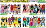 Legion of Super-Heroes of the Bronze Age, 1970s by BoybluesDCU