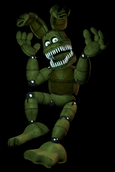 Finished Plushtrap(read disc) by spiritCDdisk