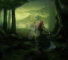 Elvenpath by FrozenStarRo