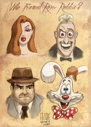 Roger Rabbit Poster by FelipeBriani