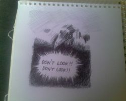 Don't Look Don't Look by fireextinquisher