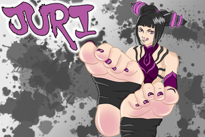 Where should she break you first? - Juri by TacoBellCEO