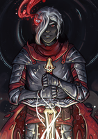 Drow knight or paladin by Gengalery