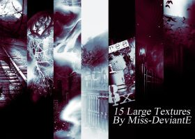 15 textures by Miss-deviantE