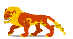 Chinese lion A by PurpleRat-YS