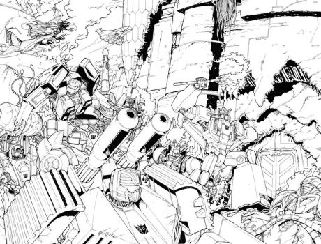 TF RID 13 Pgs 4 and 5 by glovestudios