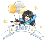 2015! + SPEEDPAINT by twirlyrolls
