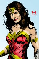 Wonder Woman by IanJMiller
