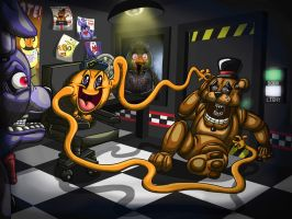 Five Nights Of Tickles!!! by Rile-Reptile