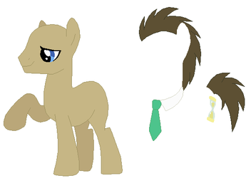 Doctor Whooves Base by SelenaEde