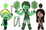 The Static Gems! Emerald Redesign by TheUltimateMagikarp