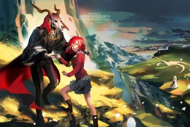 The Ancient Magus' Bride by ofSkySociety