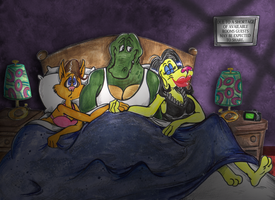 Strange Bedfellows by A-Fox-Of-Fiction