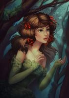 Daughter of the forest by WitchOwlet