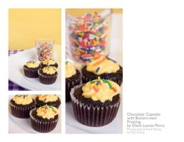 yellow cuppycakes by peachjuice