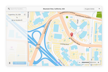 Maps App concept by spiceofdesign