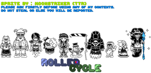 [Undertale AU] Rolled Cycle (Swapspin UPDATED) by TheTrueRyan