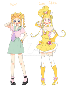 Cure Toffee ref by Hacuubii