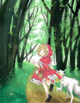 Little Red Riding Hood by Ayasal