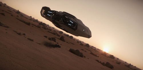 Star Citizen - 600i - Extra shot from commercial by Xenthor