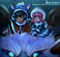 Nunu x Annie (With Willump) by Hinata1495