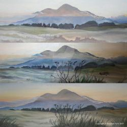 Maol Reidh sunrise x3 showing development by SuzanneHole
