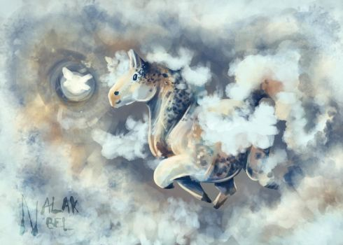 Cloudy Pony by Nalak-Bel