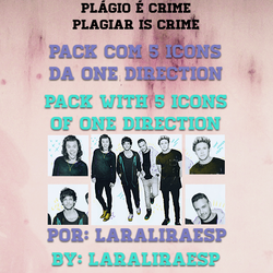+1D - ONE DIRECTION Icon Pack by laraliraesp