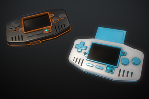 Handheld Game Console by Kutejnikov