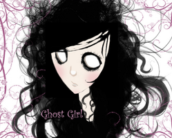 my Artwork for GhostGirl by willowgothicprincess