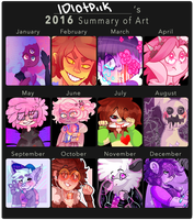 Year Art Meme!!! by Mareu-Chan