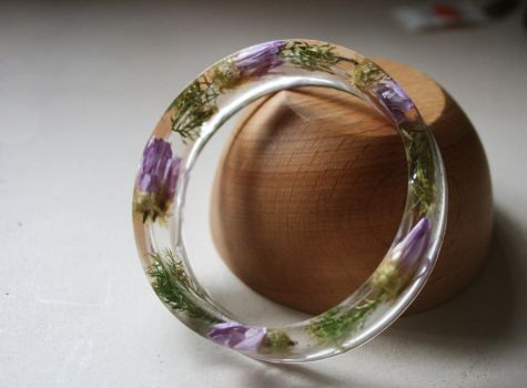 Resin bangle by alina9v