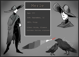 CDC June: Day 29 - Merle Ref by hellebee
