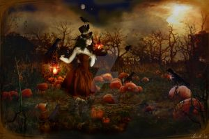 Pumpkin Patch Annie by Toefje-Kunst