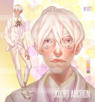 WYATT -  [CLOSED] | adopt auction| JHU by JHUffizi