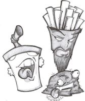Aqua Teen Hunger Force by iSlick