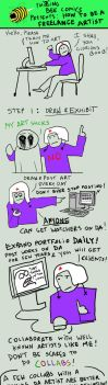 F-ING BEE. HOW TO BE A FREELANCE ILLUSTRATOR by alexiuss