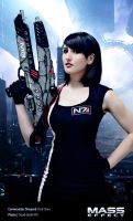 Commander Shepard - Mass Effect Cosplay by Evil-Siren