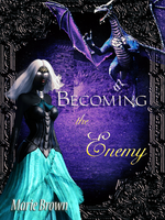 WIP ebook cover: Becoming the Enemy by kittenwylde