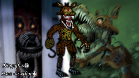 Twisted Foxy by kingofbut