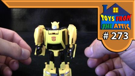 Toys from the attic E273 titans return bumblebee by Jason-K