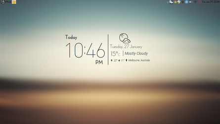 Flair Weather Conky . Made for Conky Manager by speedracker