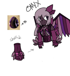 Purple Onyx - Gemsona by MoondustOftheMoon