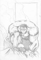Hulk sketch Art by TorruellasArts