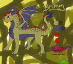 Dragon design contest: Brimm by BT-fabulouscatlord