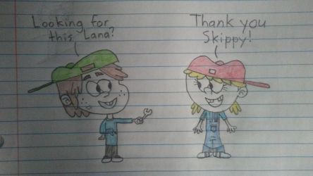 Skippy lends Lana his wrench...again by manuel2018