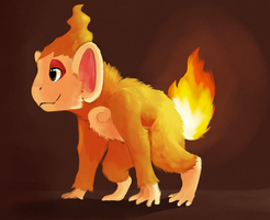 Chimchar by Limecrumble